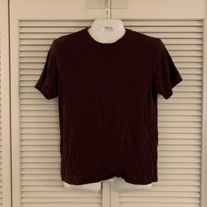 Banana Republic | Men's Maroon Short Sleeve (M)